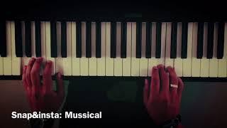 موسيقى بيانو - sen yanımdayken - عزف علي الدوخي