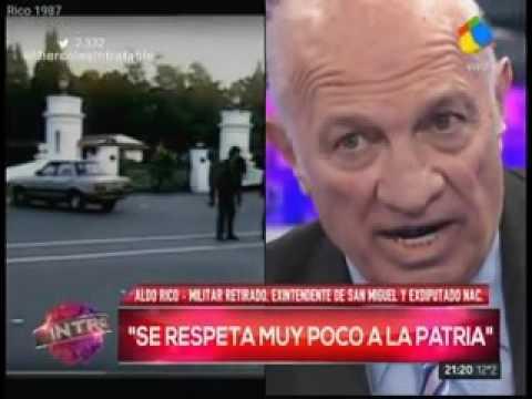 Aldo Rico dijo que Cristina Fernández es una ladrona como todos los kirchneristas