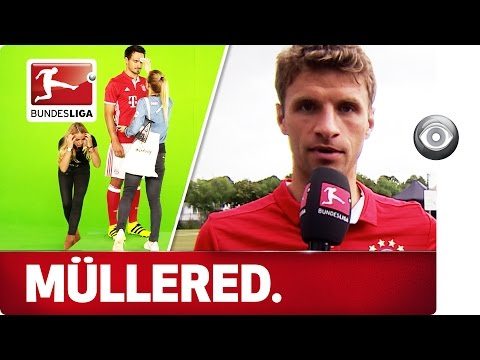 Lewandowski, Thiago and Thomas Müller the reporter - Behind the Scenes at FC Bayern