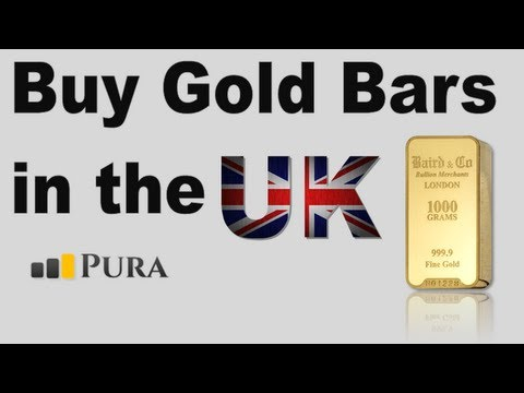 Buy Gold Bullion Bars in the UK