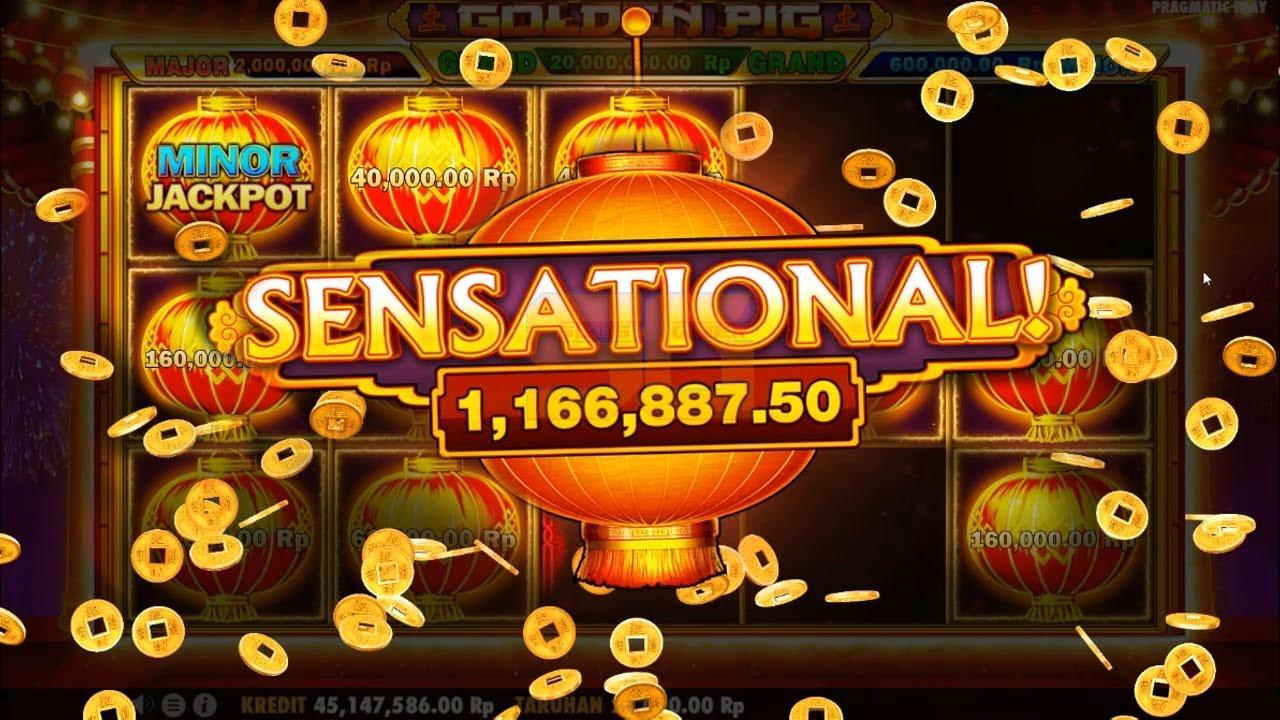 Cara Dapat Jackpot di Slot Golden Pig | Pragmatic Play - YouTube