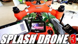 SPLASH DRONE 3 Review - SwellPro's Newest Waterproof Drone - Part 1 - Unboxing, Inspection, Setup