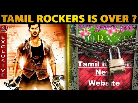 Its Finally Over For Tamilrockers? The End! | Vishal | Piracy | Theaters