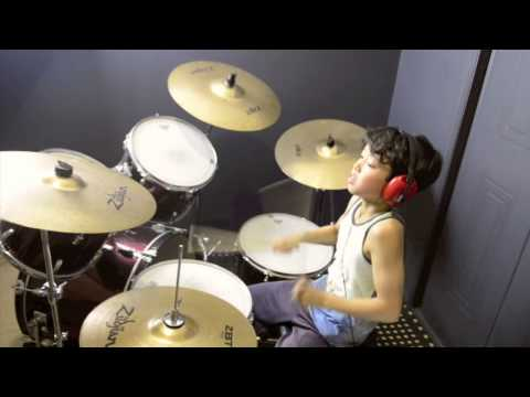 Chandelier - Sia - Drum Cover By 11 Year Old Joh Kotoda