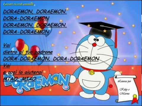 Sigla Doraemon Completa Ita+Testo
