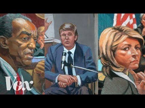 Thumbnail: Why we still need courtroom sketch artists