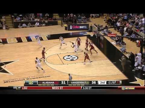 02/02/2013 Alabama vs Vanderbilt Men
