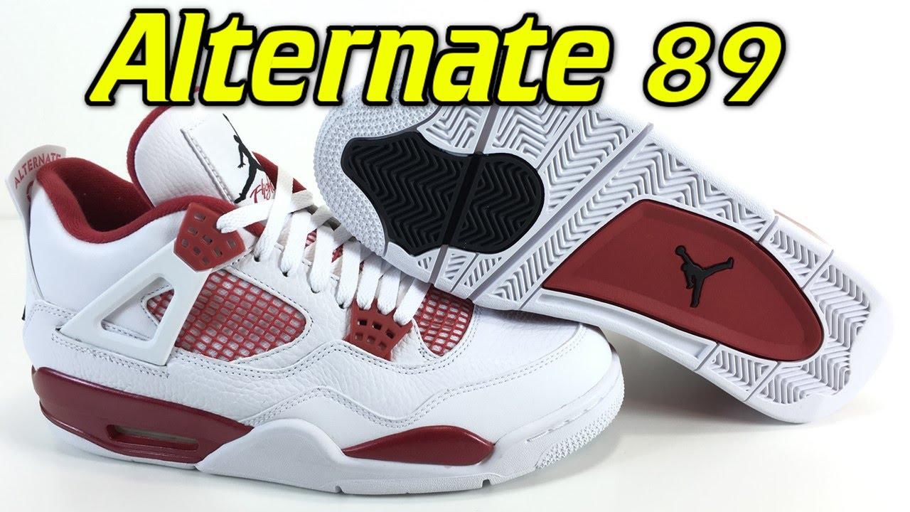 53e4064497a Jordan 4 Retro Alternate 89 - Review + On Feet - YouTube