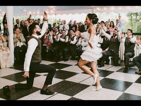 Armenian Kochari Multicultural Epic Wedding Dance Entrance - Talin & Mesrop