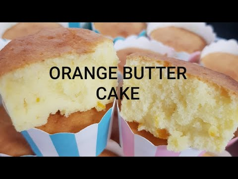 Mandarin Orange Butter Cake