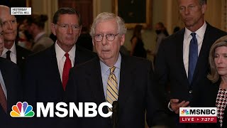 Sen. McConnell Says Debt Ceiling Will Be Raised By Democrats