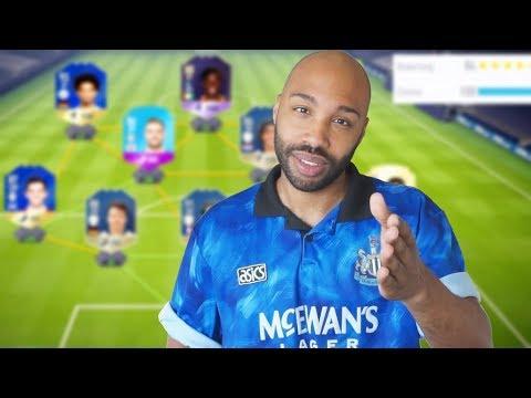 ICH BEWERTE EURE TEAMS! 🔥 💯 - Komplett blau - FIFA 18 Ultimate Team