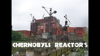 Chernobyl Reactor 5 and 6 rarely seen video of unfinished reactor EP3 Forgotten reactor