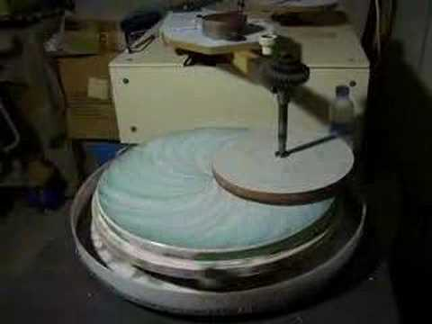 telescope mirror machine