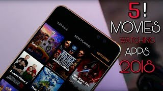 Top 5 Apps To Watch Free Movies HD On  Android Devices 2018   Free Movie Streaming App   Techy Imran