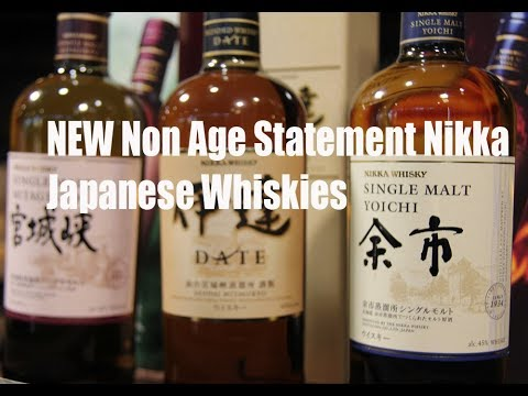 NEW Non Age Nikka Japanese Whiskies