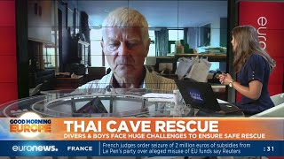 Andy Eavis explains the challenges about the incredibly complex Thai cave rescue operation