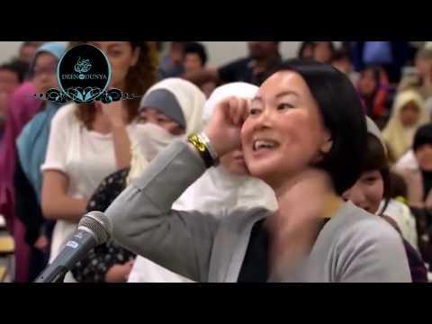 Japanese Converting to Islam - MaShaALLAH By Dr. Zakir Naik | Deen Over Dunya
