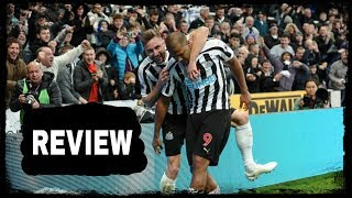 REVIEW   NEWCASTLE UNITED 2-1 BOURNEMOUTH
