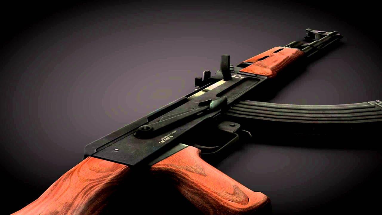 AK-47 Model Download for Cinema 4d [Download]