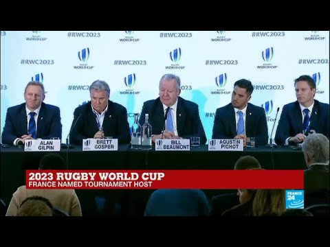 2023 Rugby World Cup: France named tournament host