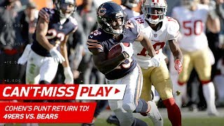 Tarik Cohen...YOU ARE RIDICULOUS!!!! | Can't-Miss Play | NFL Wk 13 Highlights