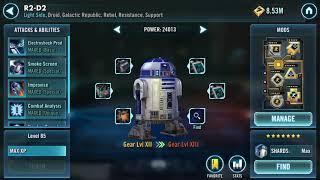 -SWGOH- G13 Darth revan cant Handle Rebels!