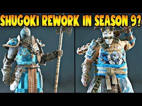 For Honor: SHUGOKI REWORK IN SEASON 9! NEW ROCK, PAPER, SCISSORS EMOTE!  LAWBRINGER BUFF SOON!