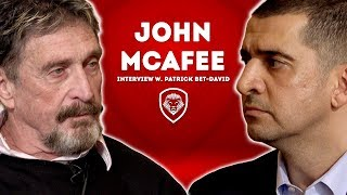 John McAfee- Changes Bitcoin Prediction, Talks Facebook Privacy & FBI Director Comey