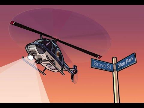 GTA San Andreas Где найти полицейский вертолёт