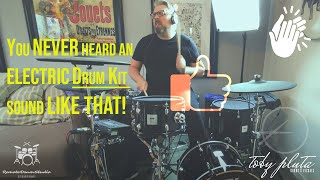 "You never heard an electric drum kit sound like that! PBUG ""Stand up"" drum play through"