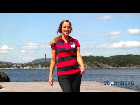 Stormberg catwalk - Oksøy piqueskjorte og Havglimt stretchbukse dame