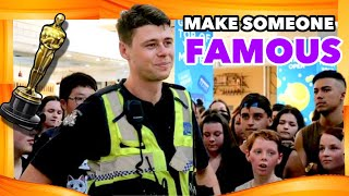 WE MOBBED A POLICE OFFICER *MAKING RANDOM PEOPLE FAMOUS*