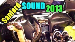 CLEAN FORD COBRA & Mustang GT Show Cars w/ Alpine Type-R Sub FLEX | Sanford Sound Car Audio 2013