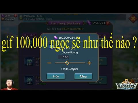 Game Lords Mobile Việt Nam Gif 100000 Ngọc Sẽ Như Thế Nào