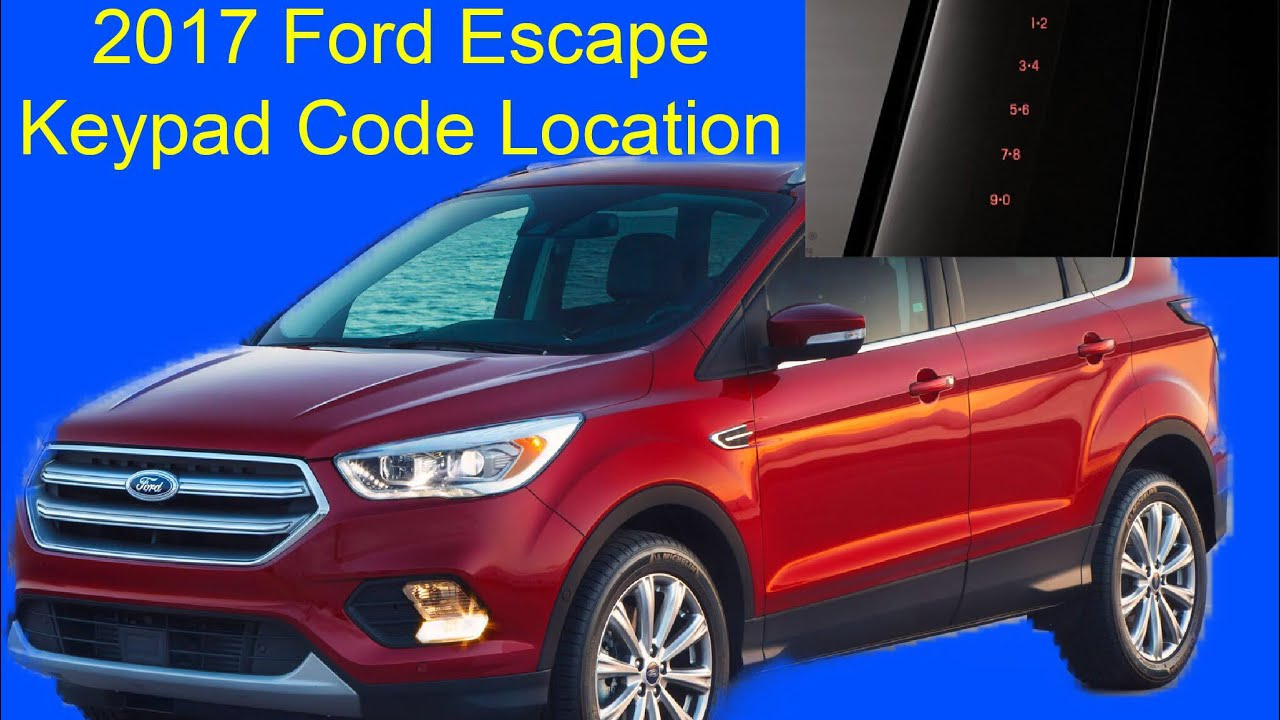 Ford Keyless Entry Code Hack >> Reprogramming Security Code For Door On A Used Escape