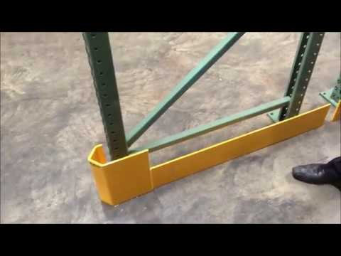 space saving rack guards on seismic rack