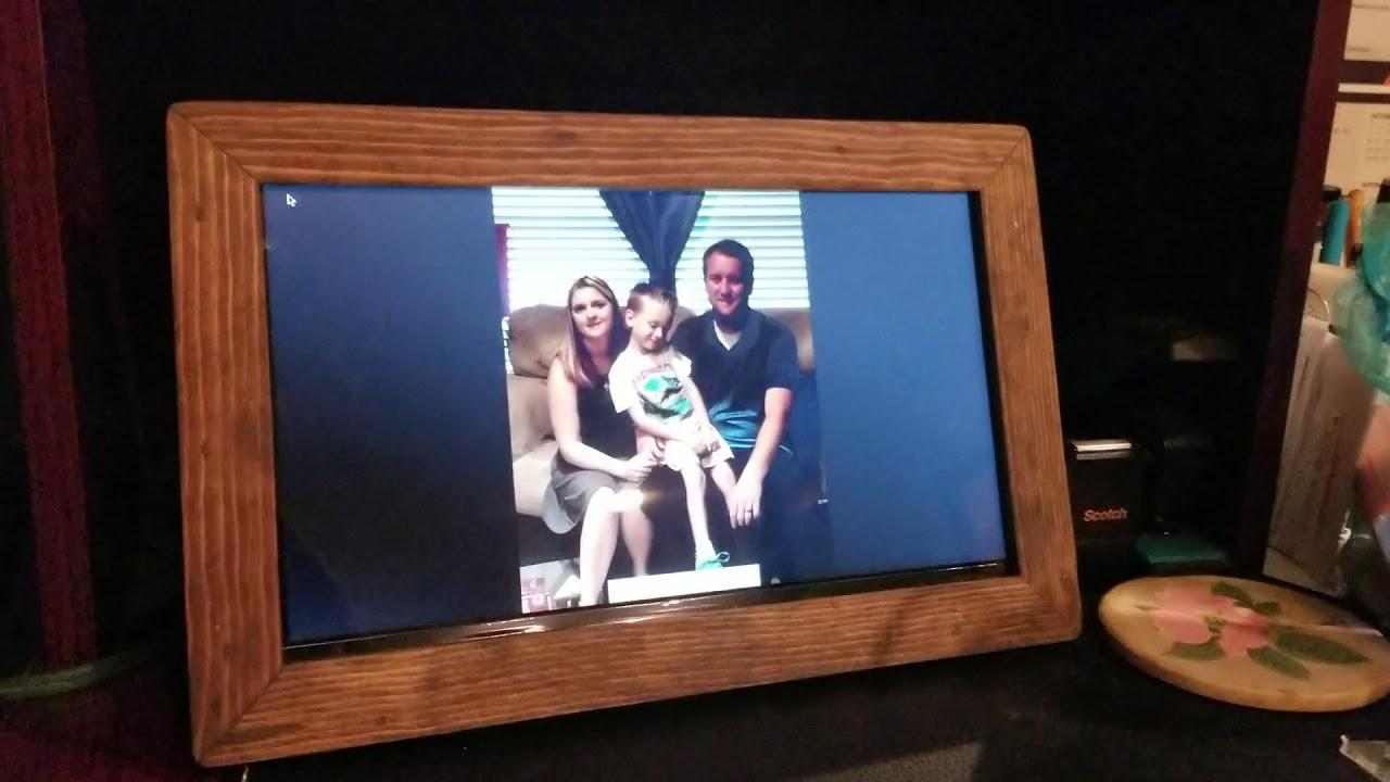 Blue Iris picture frame / UI3 camera viewing station | IP