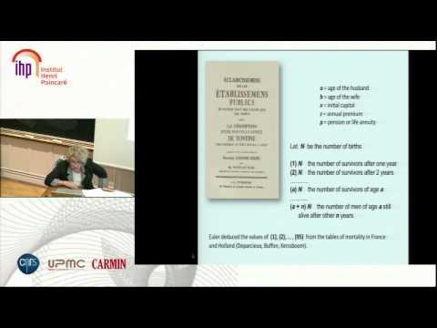 Maria Teresa Borgato, Lagrange and insurance problems