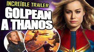 ¡INCREÍBLE! Nuevo Trailer de AVENGERS 4 ÉPICO más