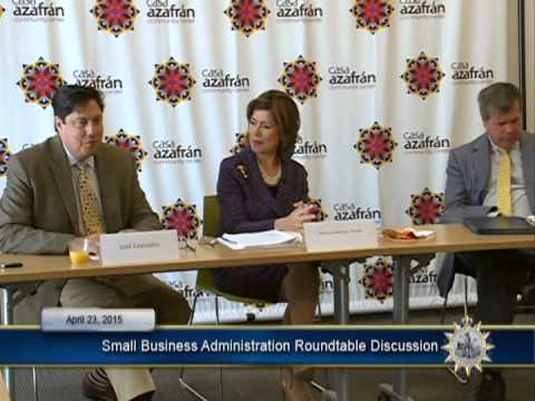 04/23/15 Small Business Administration Roundtable Discussion