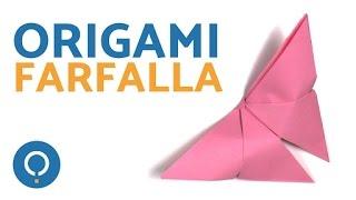 Tutorial origami a forma di Farfalla - Semplicissimo!