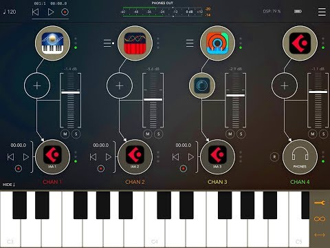 How To Set Up & Build A Multi-Timbral Super Synth in AUM - Tutorial for iPad