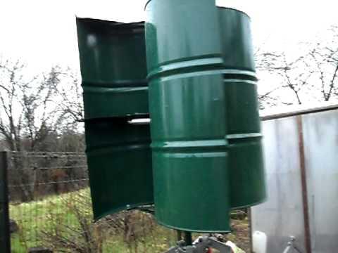 Fabrication d 39 une olienne - Petite eolienne verticale ...