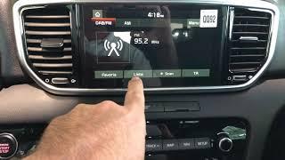 📣. Comment mettre en favoris vos stations radios sur un Kia Sportage
