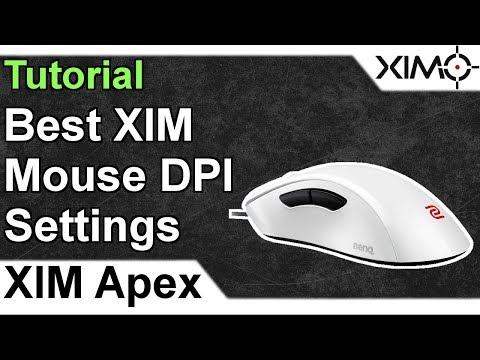 XIM APEX - Best Mouse DPI Settings for XIM Tutorial
