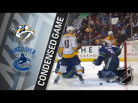 12/13/17 Condensed Game: Predators @ Canucks
