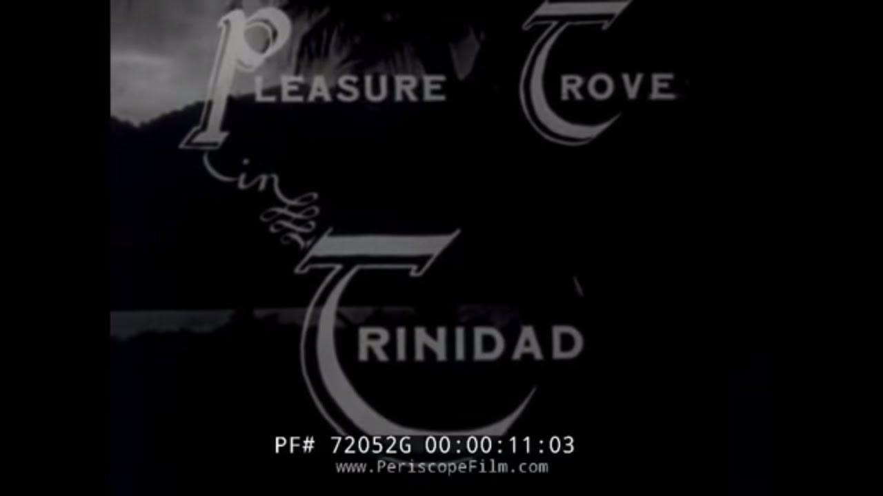 1930s PLEASURE CRUISE TO TRINIDAD & TOBAGO 1930s 72052g