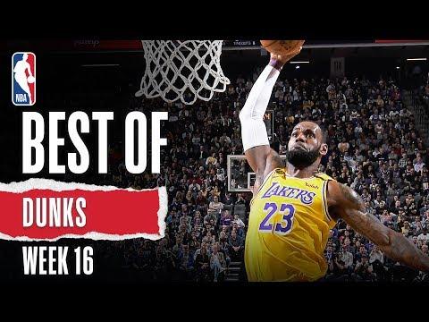 NBA's Best Dunks | Week 16 | 2019-20 NBA Season