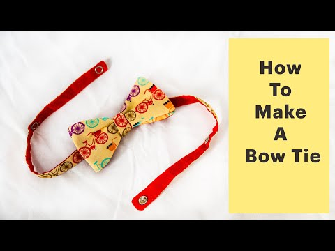 How To Make Bowtie